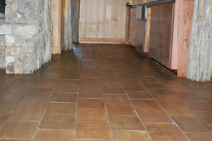 French Terracotta tile in caffe color