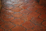 San Felipe Antique Terracotta tile